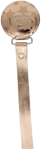 Crystal Dream Pacifier Clip - RL19-ST, Rose Gold