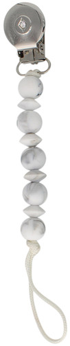 Crystal Dream Pacifier Clip - SCSS, Marble