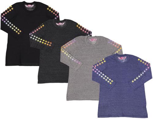 So Nikki Womens 3/4 Sleeve T-shirt - 1255J-P555