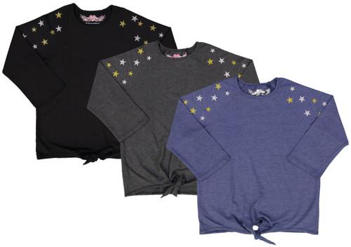 So Nikki Womens 3/4 Sleeve T-shirt - 1288J-P535
