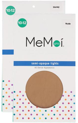 Memoi Girls Semi Opaque 40 Denier Tights