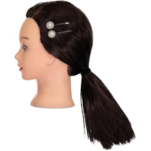 Riqki Pearl Flower Hair Clips