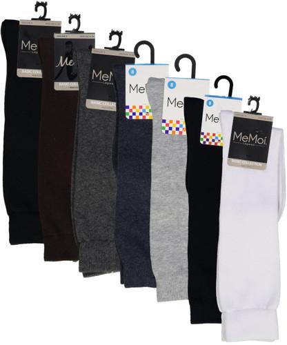 Memoi Girls Cotton Knee Socks - MK-5056