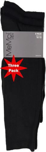 Memoi Mens Ribbed Socks 3 Pack - MM-450