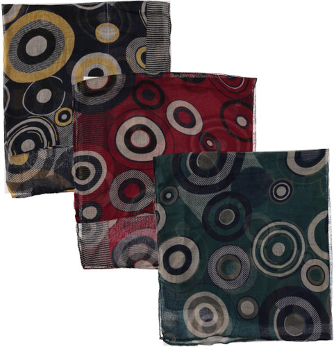 Riqki Open Bullseye Israeli Tichel - Y1956-OPEN