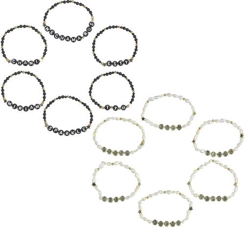 Custom Name Beads Bracelet