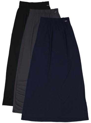 BGDK Ladies Long Slinky Skirt