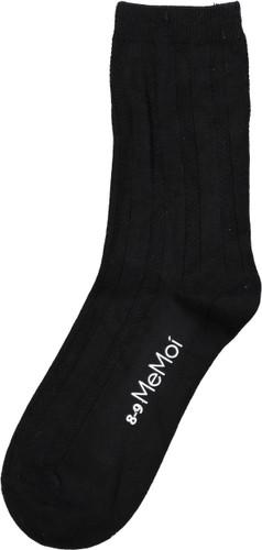 Memoi Boys Bamboo Woven Ribbed Dress Socks - MK-183
