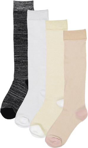 BlinQ Girls Metallic Mesh Knee Socks - 310