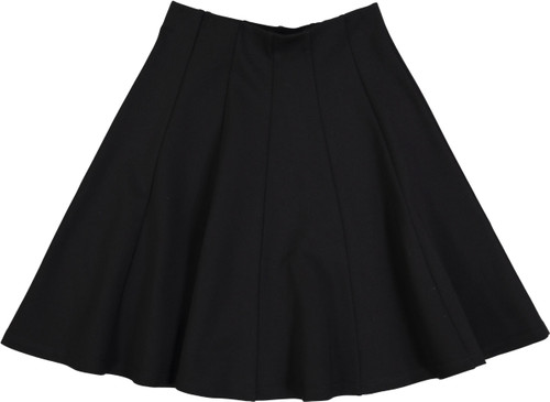 BGDK Girls Lycra Panel Skirt - GM-5023K