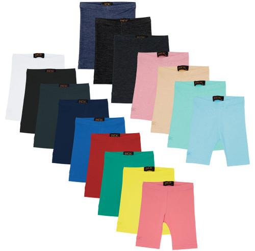BGDK Unisex Children's Cotton Stretch Short leggings