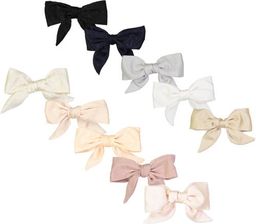 Dacee Girls Silk Bow Hair Clip - AS1341