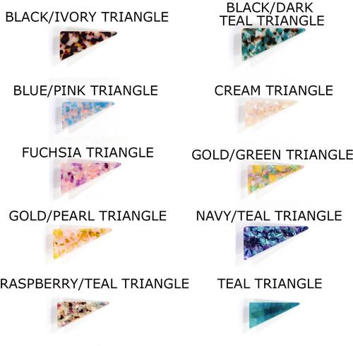 Acrylic Resin Triangle Clips