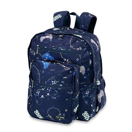 Top Trenz Gamer Backpack  - BP-GAME5