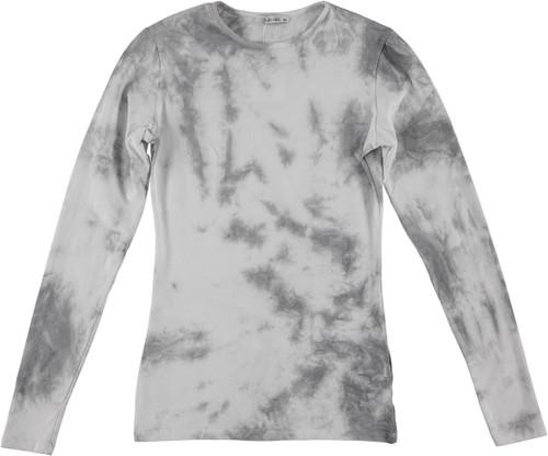 Kiki Riki Womens Long Sleeve Tie Dye T-Shirt - 29286