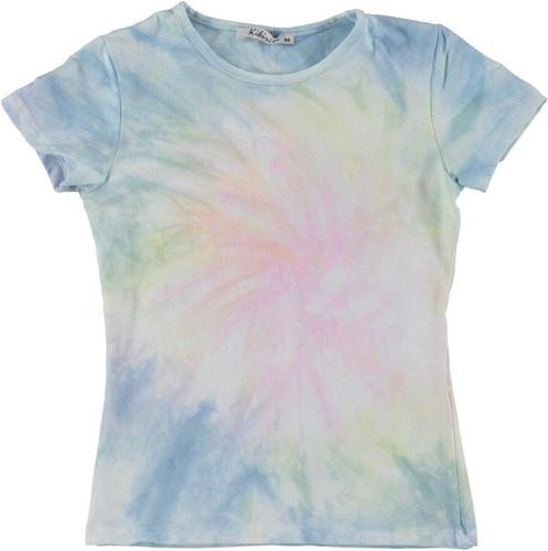 Kiki Riki Girls Cotton Short Sleeve Tie Dye T-Shirt - 29293