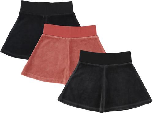 Analogie by Lil Legs Girls Velour Skirt
