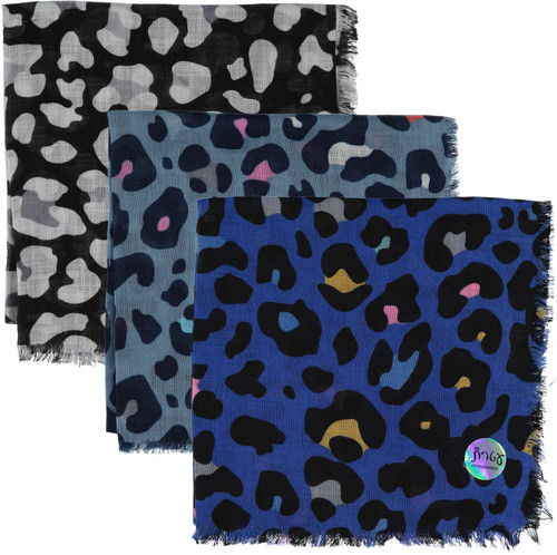 Ateret Open Cheetah Print Israeli Tichel