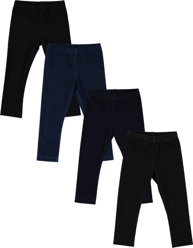 BGDK Unisex Boys Girls Toddler Cotton Denim Leggings - BK-1606