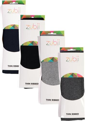 Zubii Girls Thin Ribbed Tights - 150RET