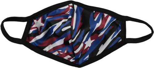 Adult Red White&Blue Face Mask - DH-12