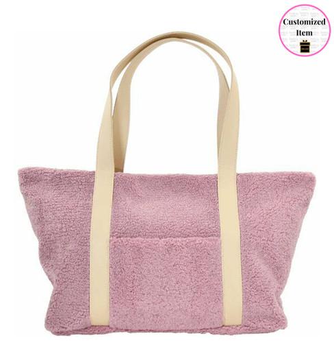 Rose Sherpa Shoulder Bag - 810-1327