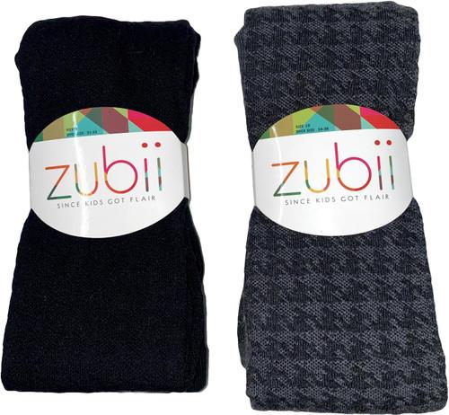 Zubii Houndstooth Texture Tights - 124