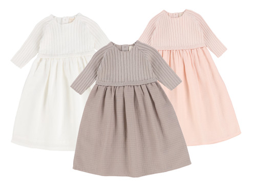 Analogie Three Quarter Sleeve Knit Dress
