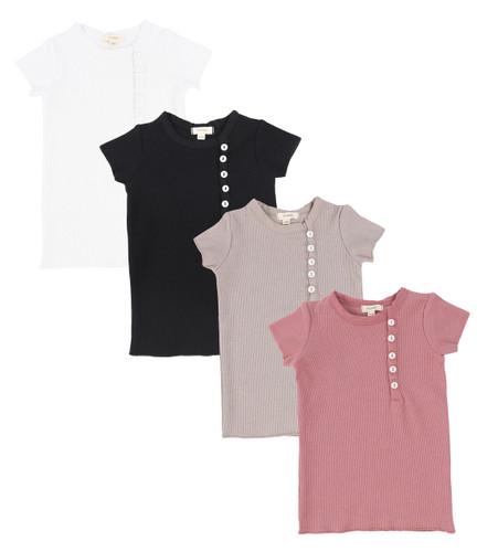 Lil Legs Sideway Short Sleeve T-Shirt