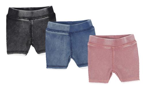 Analogie Denim Wash Shorts