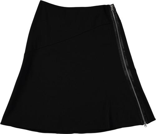 Women's A-Line Skirt With Zip