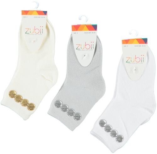 Girls Stud Ankle Sock