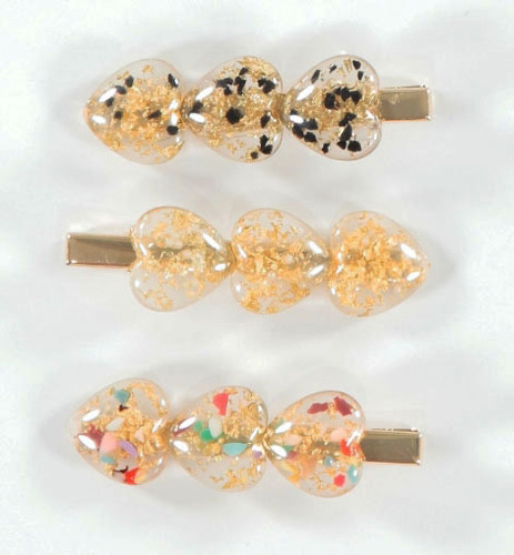 Speckled Hearts Teen Clips