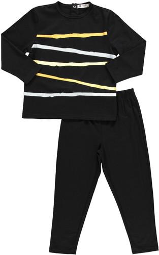 Metallic Stripes Pajamas