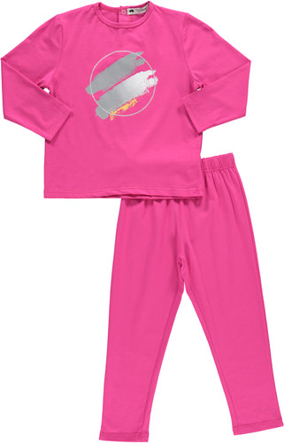 Girls Paint Stroke Pajamas