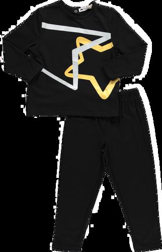 Boys Metallic Swirl Pajamas