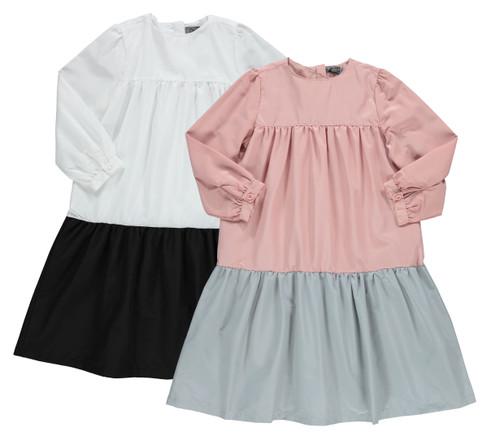 Girls Little Story Shabbos Dress