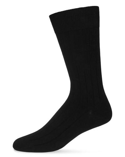 Men's Ribbed Extra Wear 3PP Socks