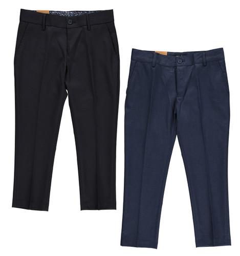 Husky Fit Boys Waist With Slim Leg Fit Dress Pants