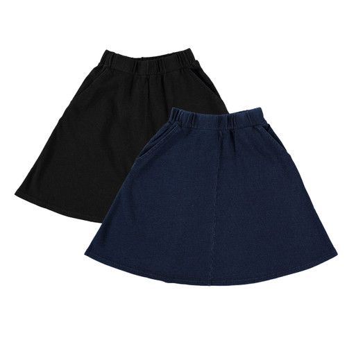 Girls Denim Skirt w/Pockets