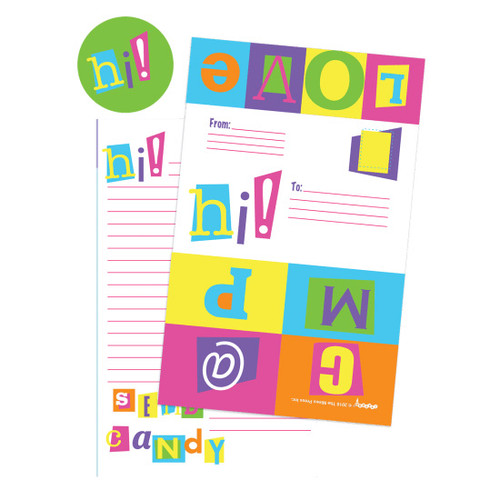 Color Block Camp Fold over Cards 760-1123