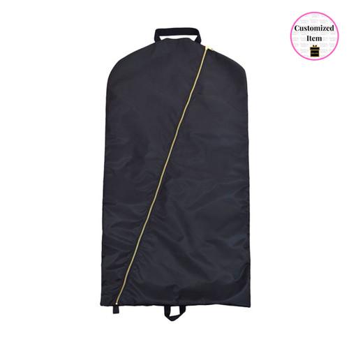 Black Brass Garment Bag - OMBGB