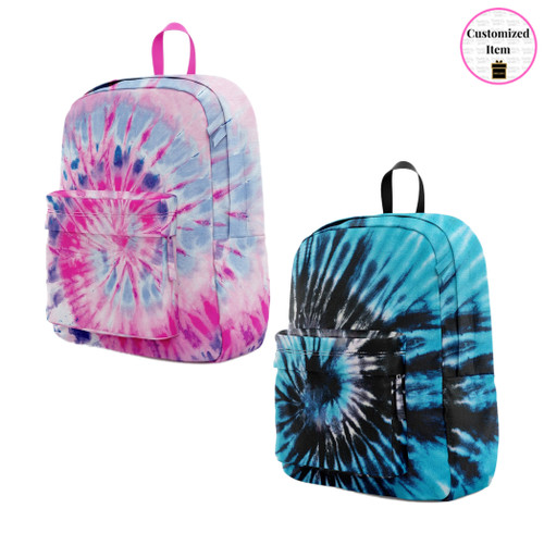 Canvas Tie-Dye Backpack
