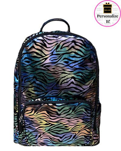 Bari Lynn Cosmic Zebra Backpack - BLCZB