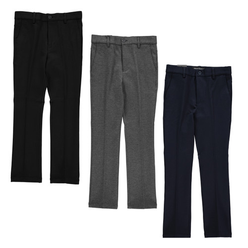 Boys Knit Stretch Pants