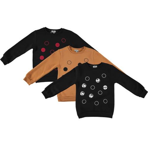 Boys/Girls Multi Dot Cotton Sweater