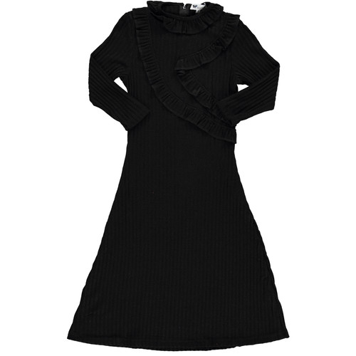 Girls Black Shabbos Robe