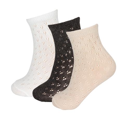 Girls Vintage Crochet Midcalf Sock