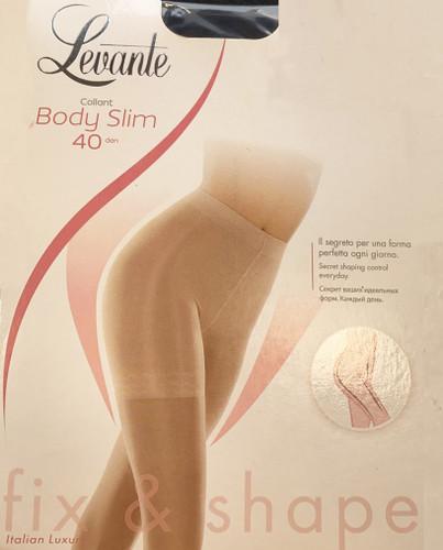 Levante Women's Body Slim 40 Denier Pantyhose