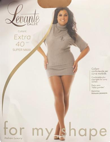 Levante Women's Extra 40 Super Maxi Semi Opaque Pantyhose